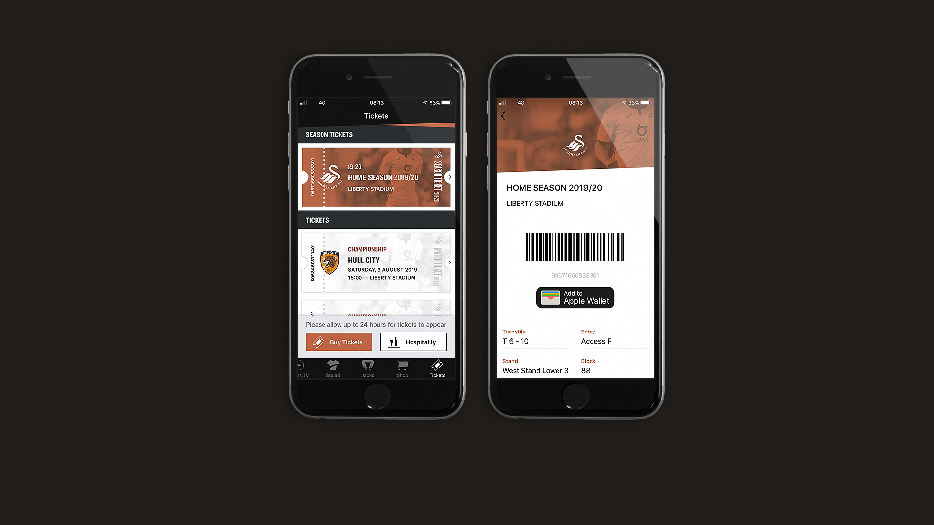 In-app ticketing functionality live for first Championship
