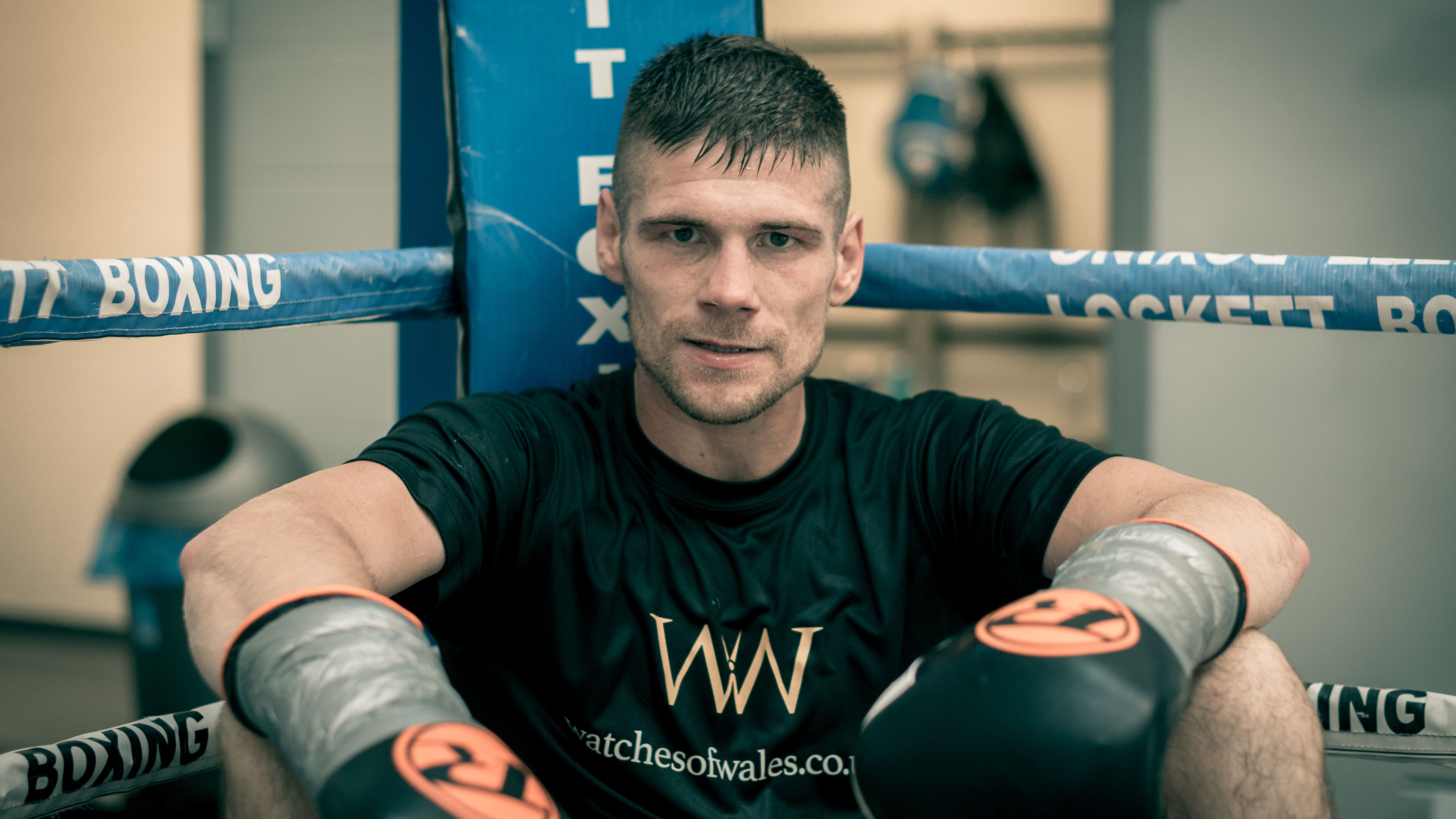 Boxing champ Chris Jenkins ready for his big day at the Liberty   Swansea