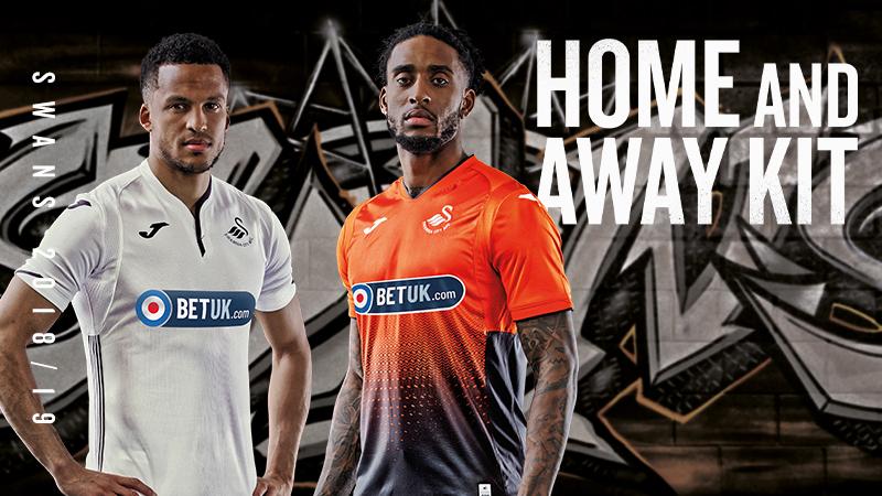 big sale 7a05a d6c13 Swans reveal new kit for 2018-19 season | Swansea