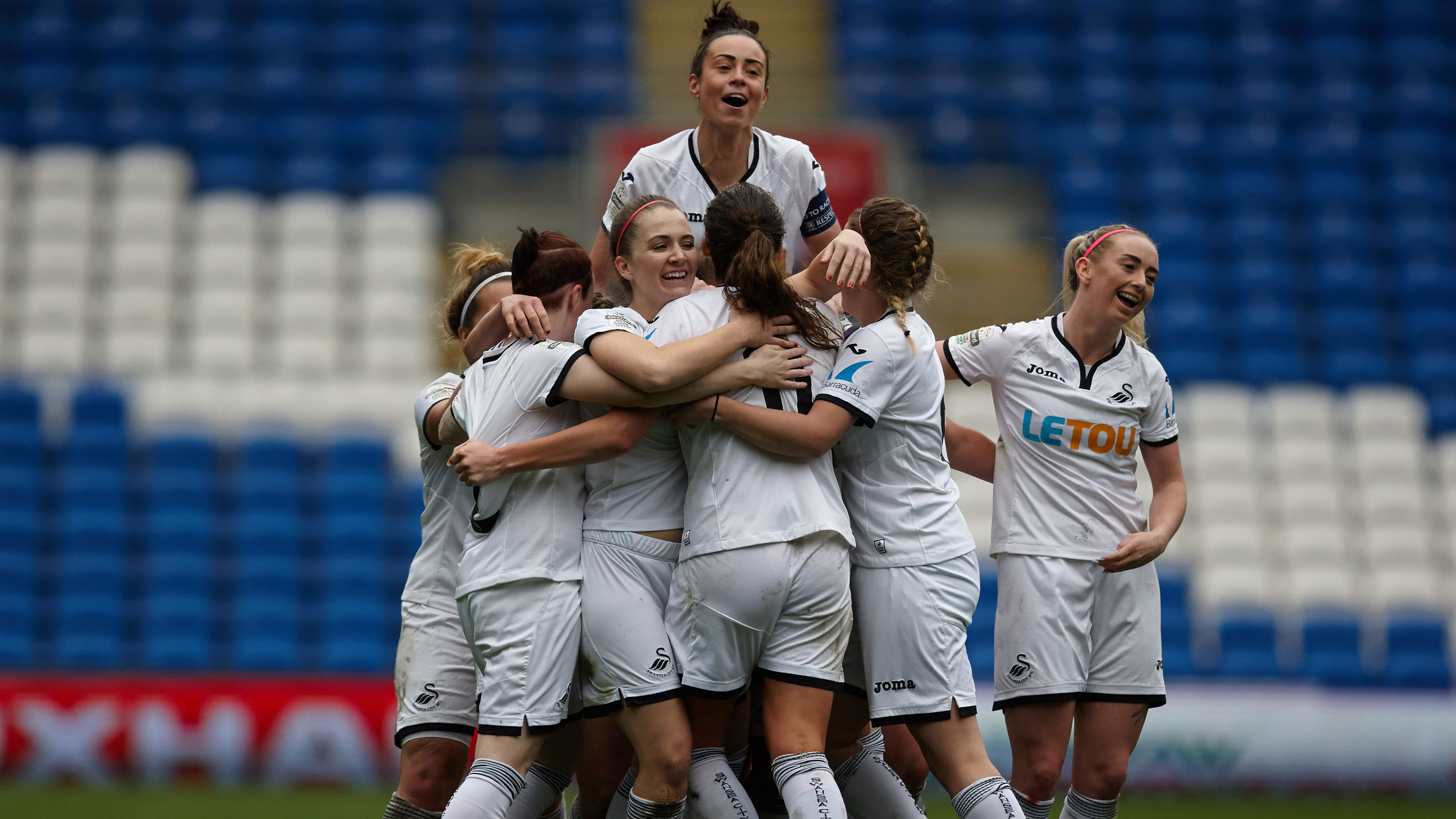 Swans Ladies live on Radio 1   Swansea