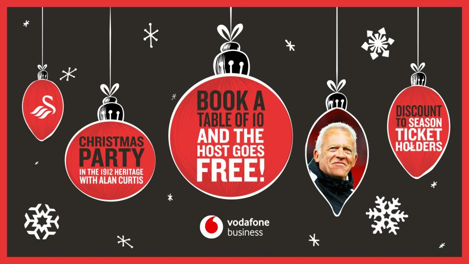 Enjoy a special Swans Christmas Party